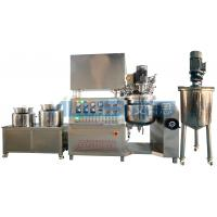 Buy cheap High Viscosity Toothpaste Vacuum Emulsifying Machine Paste Making Plant from wholesalers