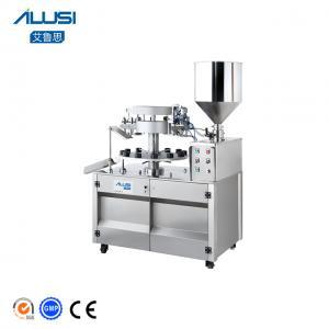 Buy cheap Semi-auto Ultrasonic Plastic Tube Filling And Sealing Machine product