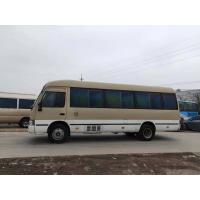 Buy cheap japan brand toyota coaster 30 seats diesel fuel second hand medium-sized bus 4x2 coaster on sale product