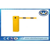 Buy cheap Remote Control Automatic Barrier Gates , Straight Boom Traffic Barrier Gates in 3m / 5m / 6m product