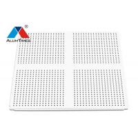 Buy cheap Solid Color T Bar Lay In Ceiling Panels / Perforated Ceiling Tile Grid product