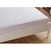 Quality Toddler Anti Allergy Foam Mattress Protector White Water Resistant for sale