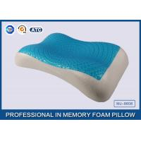 Buy cheap Therapeutic Memory Foam Cooling Gel Pillow with Soft Cover , Cooling Gel Bed Pillow product