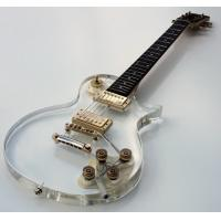 Buy cheap Galveston Clear Acrylic LP Electric Guitar from wholesalers