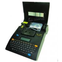 Buy cheap tube / wire cable label maker thermal barcode for transportation , Black product