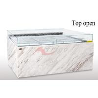 Buy cheap LED Light Board Open Display Cases Different Depth 1.0m / 1.1m / 1.2m Powerful Cooling product