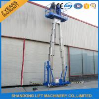 14m High Rise Window Cleaning Lift System , Aerial Wok Hydraulic Work Platform Lift