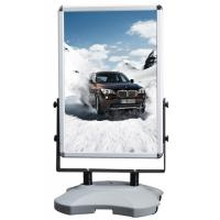 Buy cheap Outdoor Advertising Snap Frame Stand With Water Base Aluminum Material product