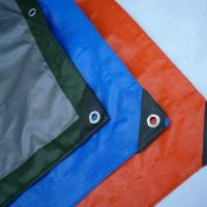 Buy cheap Waterproof PE Tarpaulin Sheet / Polyethylene Sheet Roll Ground Cover product