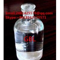China Raw Pharmaceutical Materials Safe Organic Solvents Colourless Liquid Gamma - Butyrolactone GBL CAS 96-48-0 on sale