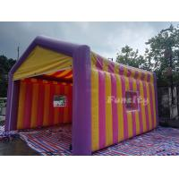 Buy cheap Outdoor portable commercial advertising mini inflatable camping tent for resort from wholesalers