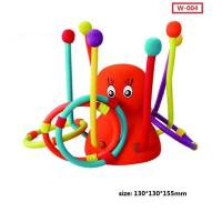 Buy cheap Custom New Kid Play Throw Ring Octopus Toys Interactive Educational Toys product
