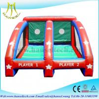 China Hansel inflatable sports games basketball,inflatable ball games for kids on sale
