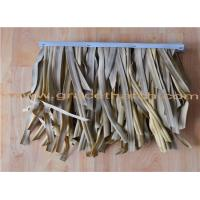 Buy cheap Extrusion plastic synthetic thatch roof for decoration product
