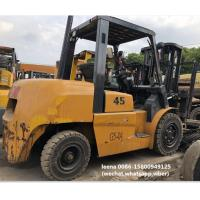 Buy cheap used tcm 4.5ton FD45T9 diesel forklift , low work hrs, originally made in japan from wholesalers
