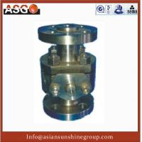 Buy cheap Manul Flange Ansi 300# Duplex Stainless Steel F55 Soft Seal Ball Valve product