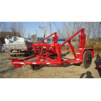 China  Cable Reel Trailer,Cable Reel Puller,Cable Conductor Drum Carrier  for sale