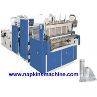 Buy cheap 3 Layer Toilet Tissue Roll Slitting Rewinding Machine For Paper Making product
