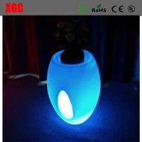 Buy cheap 46 × 46 × 80 cm Colors Changing Waterproof PE Material LED Flower Pots,Decor Flower Pots for Christmas Decoration from wholesalers