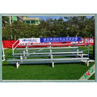 Buy cheap UV Protection Retractable Plastic / Aluminum Bleacher Football Stadium Chairs from wholesalers