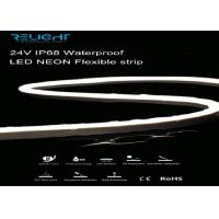 Buy cheap 5050 RGBW 24V IP68 5000*12mm Waterproof LED NEON Flexible Strip Lights from wholesalers