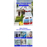 Factory Direct High Quality 500ml Cleaning Car Windshield Glass Cleaner Detergent Spray