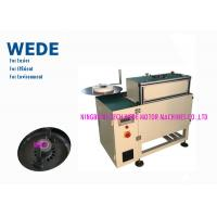 Buy cheap PLC Control Automatic Insertion Machine , Free Bur Electric Motor Coil Inserting Machine product