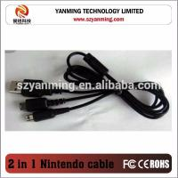 China 2 in 1 usb Charger Cable For Nintendo 3DS DSi NDSI XL MDSI on sale