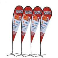 Buy cheap Custom printing Feather Flag Banners for exhibition and promotion product