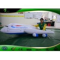 Buy cheap Colorful LED Inflatable Rc Blimp / Airplane Full Printing 3m Long Flying Toy For Kids product
