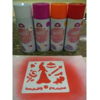 Buy cheap Non Toxic Washable Chalk Spray , Landscaping Use Water Removable Spray Paint product