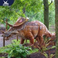 Buy cheap Outside Mechanical Realistic Life Size Dinosaur Models For Exhibit product