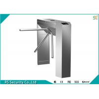 Buy cheap Semi Automatic Tripod Turnstile Security Systems, RFID Waist High Turnstiles product