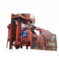 China High Sale Qbc Polygonal Bed Series Shot Blasting Cleaning Machine on sale