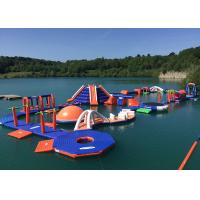 Quality Commercial Grade Inflatable Water Parks Equipment with Slide Game for sale