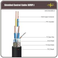 Buy cheap Solid Copper Core PVC Insulation / Sheathing And TC Braided Shield Control Cable from wholesalers