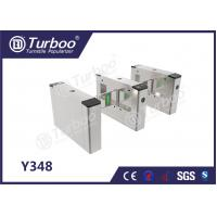 China Access Control System Pedestrian Barrier Gate With IC / ID Card Barcode on sale