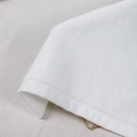Buy cheap Hemmed Hotel 50g/Pc Plain White Hand Towels product