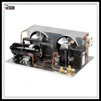 Buy cheap R404A SANYO Compressor Ultra Low Temperature Freezer Horizontal Refrigeration Condensing Unit product