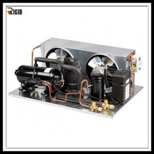 Quality R404A SANYO Compressor Ultra Low Temperature Freezer Horizontal Refrigeration Condensing Unit for sale