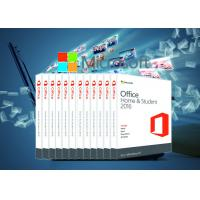 China Genuine Office 2016 Home & Student 64 bit Systems Online Activate For Win / Mac on sale