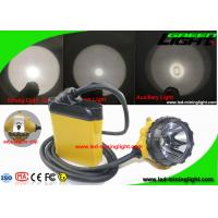 Buy cheap 10.4Ah High Low Beam Cree LED Mining Lights with Cable SOS Low Power Warning from wholesalers