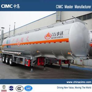 China tri-axle 45000 liters fuel truck semi trailer for sale on sale