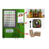 Buy cheap Touch Screen Refrigerated Salad Vending Machine , Healthy Food Vending Locker With Lift product