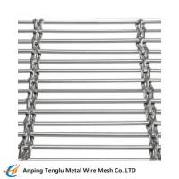 Buy cheap Stainless Steel Cable Mesh Cable pitch: 40mm Cable diameter: 3mm X 3 product