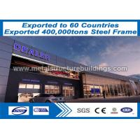 China Lightweight Steel Frame Construction Prefab Buildings Nz Long - Span on sale