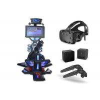 China Shopping Mall 9d Interactive JTC Vive Simulator   9D games 9d VR Playstation Standing Galting VR on sale