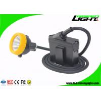 Buy cheap GL8-C Cree Led Mining Light Cap Lamp , 10000 Lux IP68 Miners Lantern Headlamp with Cable from wholesalers