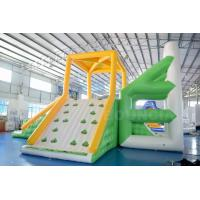Buy cheap 10mL * 9mW * 5.8mH Inflatable Water Sport Inflatable Floating Water Tower For Park from wholesalers