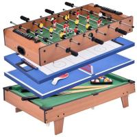 Buy cheap Indoor 3 Feet Multi Game Table Wood Multi Game System For Children Play product